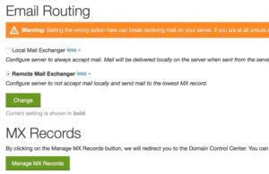 Configurazione GoDaddy per soluzione al problema Contact Form 7 non invia email