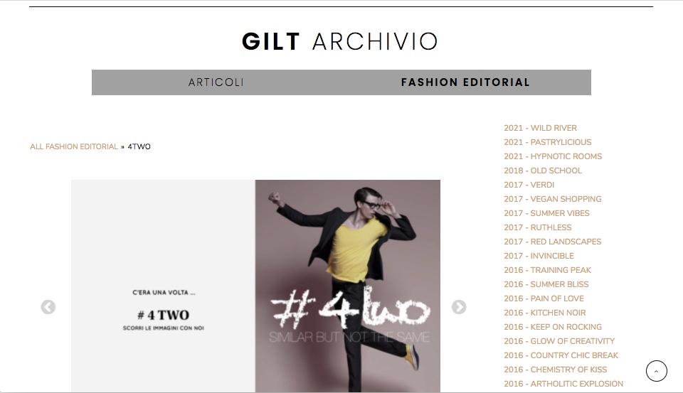 Magazine online - Archivio Fashion Editorials