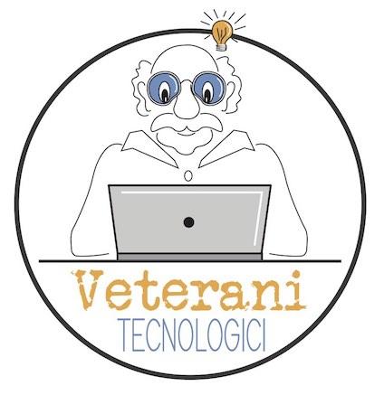 Logo del corso Veterani Tecnologici, dedicato ai più grandi